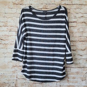 Mix By 41 Hawthorn Corinna Brushed Dolman Knit Top